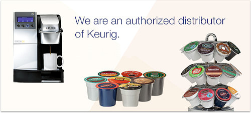 KW Vending is an Authorized Keurig Distributor